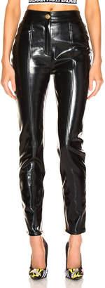 Balmain Patent Leather Pants