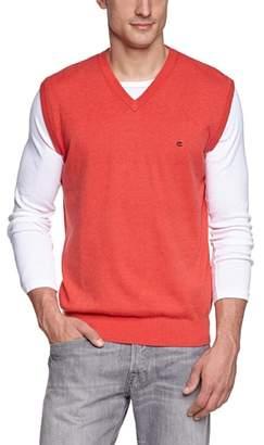 Casa Moda Men's V-Neck Sleeveless Shirt