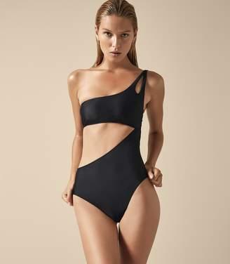 Reiss Charlize Asymmetric Swimsuit