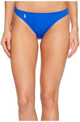 Polo Ralph Lauren Modern Solids Taylor Hipster Bikini Bottom Women's Swimwear
