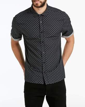 Jacamo Ditsy Print Shirt Long