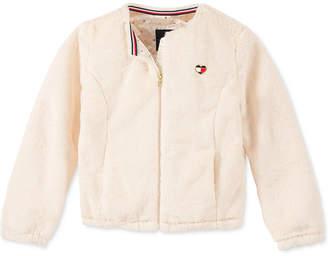 Tommy Hilfiger Big Girls Faux-Fur Jacket