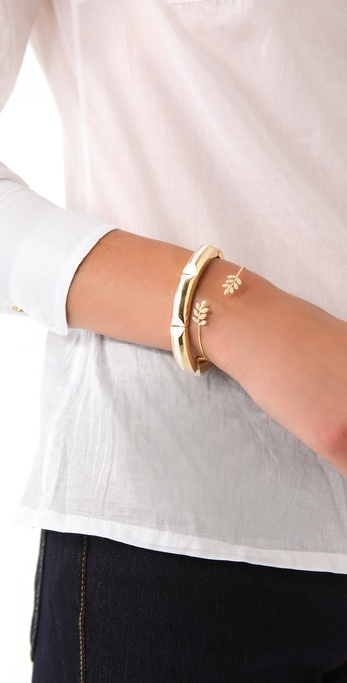 Jacquie Aiche Wrap Leaves Cuff