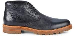 Aquatalia Jeffrey Tumb Waxy Leather Chukka Boots