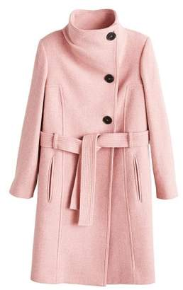 MANGO Belted wool coat
