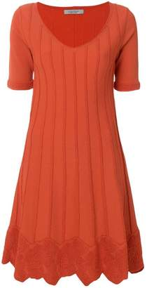 D-Exterior D.Exterior short-sleeve flared dress