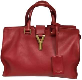 Saint Laurent Chyc Red Leather Handbags