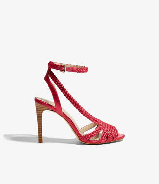 Karen Millen Woven Heeled Sandals