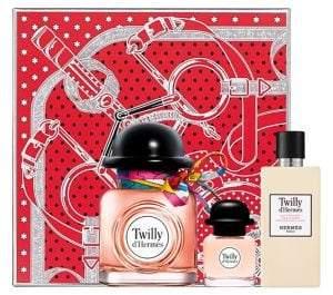 Hermes Three-Piece Twilly d'Hermès Gift Set