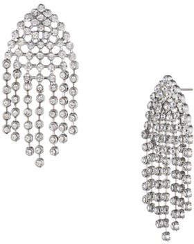 ABS by Allen Schwartz All Ears Crystal Chandelier Earrings