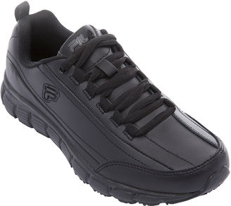 Fila Memory Radiance Slip-Resistant Womens Walking Shoes $65 thestylecure.com