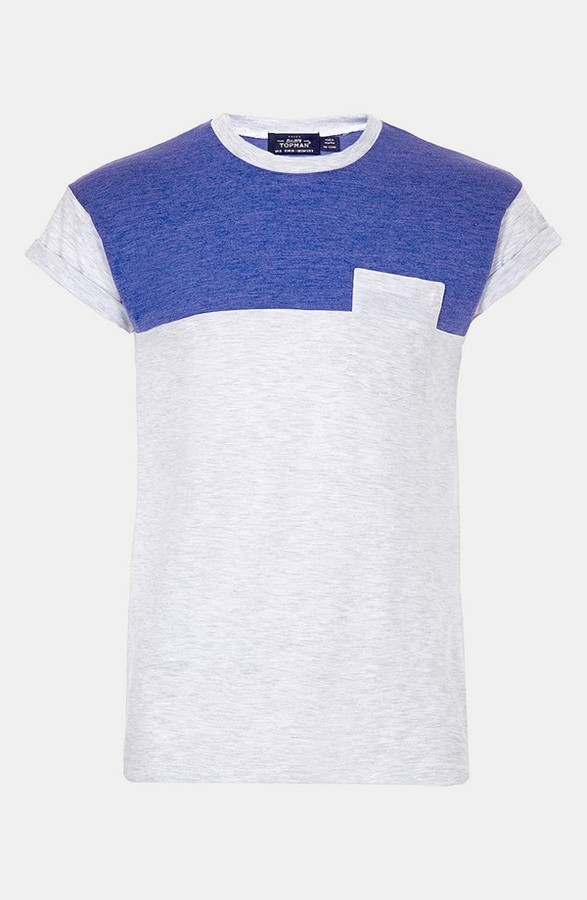 Topman 'Cut & Sew' T-Shirt