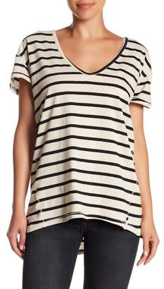 One Teaspoon Hemp Oversized V-Neck Tee