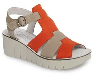 Fly London Yuni Wedge Sandal