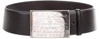 Ralph Lauren Wide Leather Waist Belt