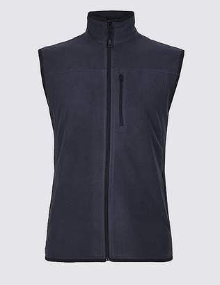 """Marks and Spencer Fleece Gilet with StayNEWâ""""¢"""