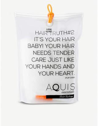 Aquis Lisse Luxe hair turban 27cm x 74cm