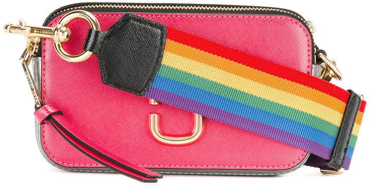 Marc JacobsMarc Jacobs rainbow strap shoulder bag
