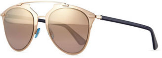 "Dior ""Dior Reflected"" Two-Tone Aviator Sunglasses $475 thestylecure.com"