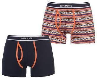 Soul Cal SoulCal Mens Cal Aztec Bxr S83 Boxer Underwear