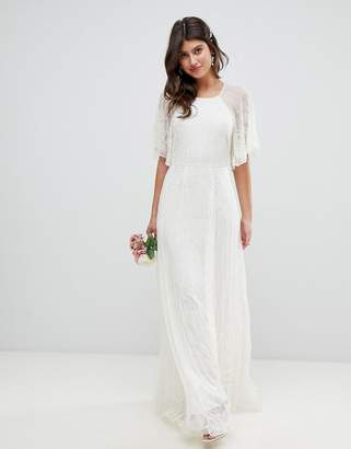 Asos EDITION deco embellished wedding dress