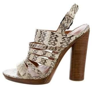 Rebecca Minkoff Lara Embossed Sandals