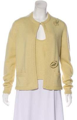 Chanel Cashmere Embellished Cardigan Set