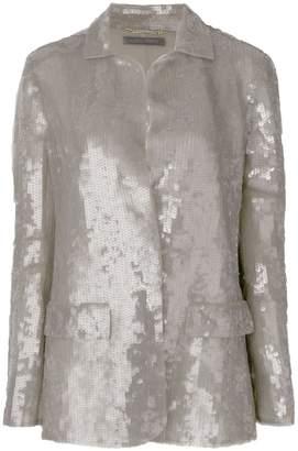 Alberta Ferretti sequin embellished jacket