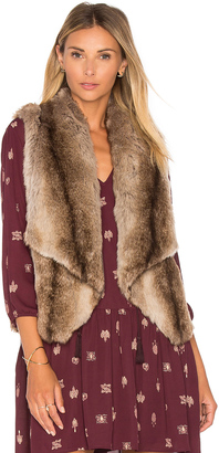 BB Dakota Jack By BB Dakota Julius Faux Fur Vest $66 thestylecure.com