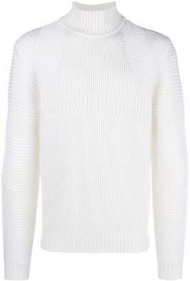Fendi ribbed knitted sweater