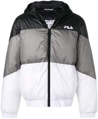 Fila colour block zipped jacket