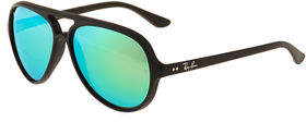 Ray-Ban Pilot Aviator Plastic Sunglasses