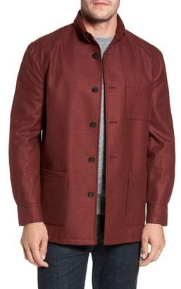 David Donahue Loro Piana Storm System Shirt Jacket