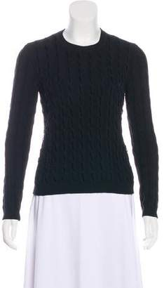 RED Valentino Knit Long Sleeve Sweater