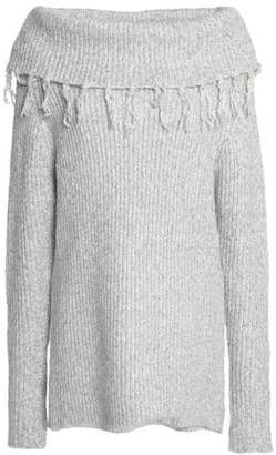 Tart Collections Tasseled Ribbed Cotton-Blend Sweater
