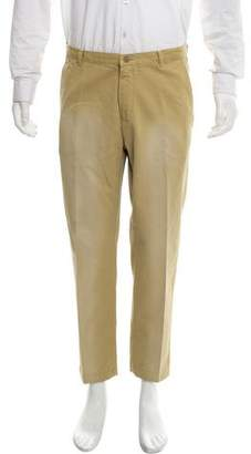Dries Van Noten Distressed Cropped Pants