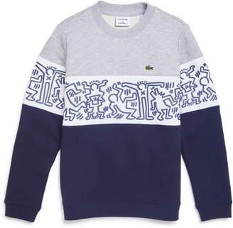 Lacoste x Keith Haring Colorblock Sweatshirt