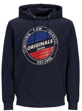 Jack and Jones Graphic Cotton Hoodie
