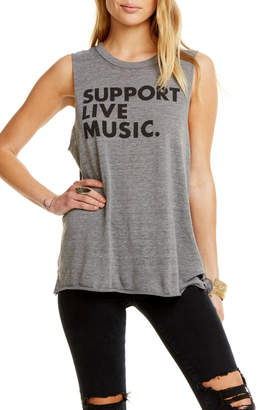 Chaser Support Live Music Muscle Tank