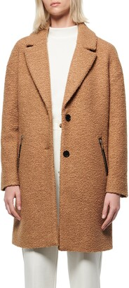 Andrew Marc Boucle Car Coat