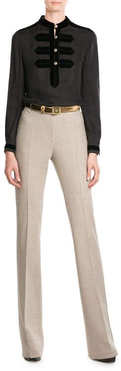 Max MaraMax Mara Wide Leg Wool Pants