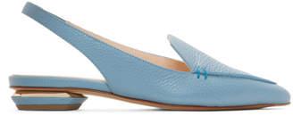 Nicholas Kirkwood SSENSE Exclusive Blue Beya Slingback Loafers