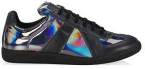 Maison Margiela Replica Holographic Low-Top Sneakers