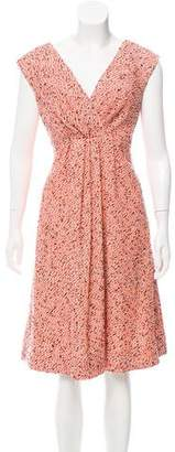 Chris Benz Tweed Abstract Dress