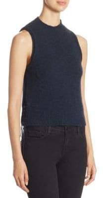 3.1 Phillip Lim Lace-Up Knit Tank Top