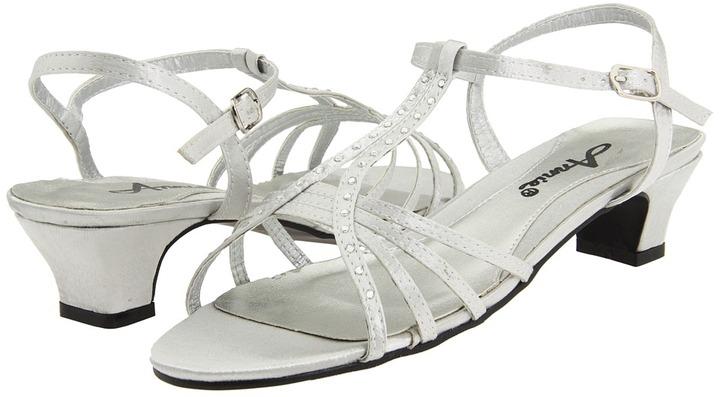 Annie Enrica (Gold Satin) - Footwear