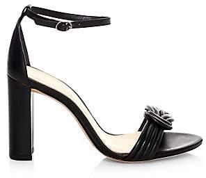 Alexandre Birman Women's Vicky Knot Detail Block Heel Sandals