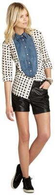BCBGeneration High-Waisted Boyfriend Shorts