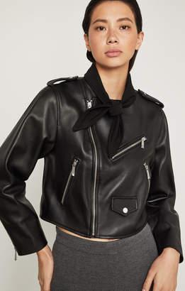 BCBGMAXAZRIA Aubree Leather Moto Jacket