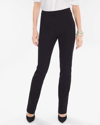 Comfort Waist Straight-Leg Pants